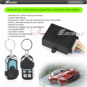 Car Remote Unlocker >> Details About Universal Car Remote Control Central Door Lock Unlock Keyless Entry System 165 U