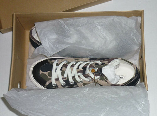 Eu41 ginnastica Canvas 5uk Scarpe Scarpe cuore 7 Size Sneakers Suola da Carhartt Nuovo Camo gq6Izq