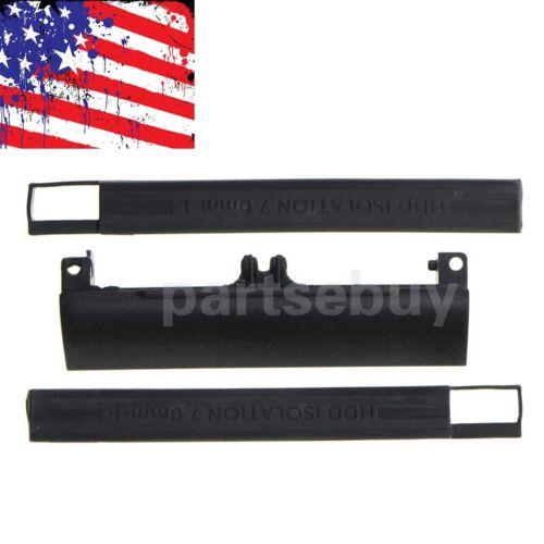 HDD Hard Drive Caddy Cover /& Rubber Rails For Dell Latitude E6330 E6430 E6530