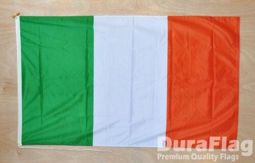 """REPUBLIC OF IRELAND DURAFLAG hard wearing FLAG 18/"""" X 12/"""" 45cm x 30cm IRISH"""