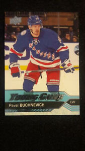 2016-17-UD-Hockey-Series-2-Young-Guns-Rookie-227-Pavel-Buchnevich-NY-Rangers