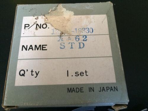 P//N 12140-18330 StdSize OEM Part Suzuki T350 1969-72  Piston Ring set