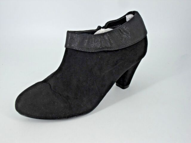 Evans Digby Black Chelsea Ankle BOOTS