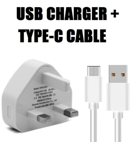 Mains Charger USB Wall Plug S8+ Fast Data Type-C Cable For Samsung Galaxy S8
