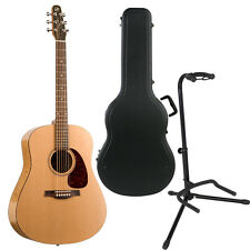 Seagull S6 Original Rosewood Fingerboard Acoustic Guitar Bundle + Case + Stand