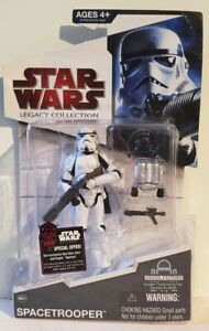 """Star Wars Legacy (BD03) Spacetrooper 3.75"""" Figure *Bent Card*"""