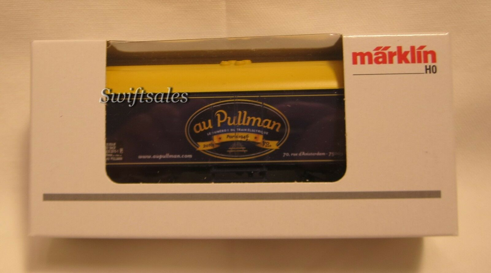 Marklin 4415.604 HO Reefer - Limited Edition Au Pullman Paris - Ships From USA!