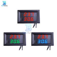 Dual Digital Led Display Temperature Waterproof Thermometer Ntc Sensor