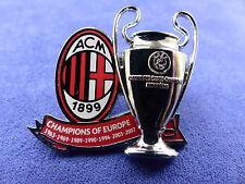 UEFA CHAMPIONS LEAGUE'CHAMPIONS OF EUROPE' COMMEMORATIVE BADGE
