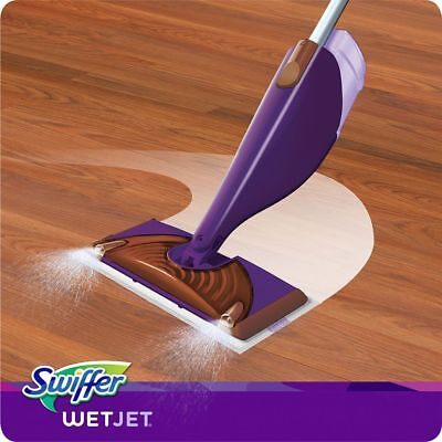 Swiffer WetJet Spray Mop Cleaner Starter Kit Pack Set Hard Floor Tile Wood Vinyl 692624272477 | eBay