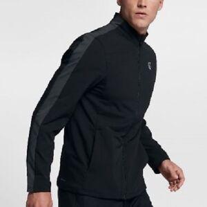 448cb8a8c Nike Mens Court Woven Warm Up Tracksuit - 899622-010 - Sz M - Black ...