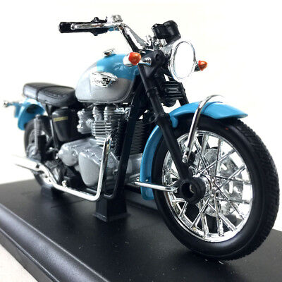 Triumph THRUXTON 1200 Motorcycle Die-Cast Model Welly 1:18 Scale Toy Collection2