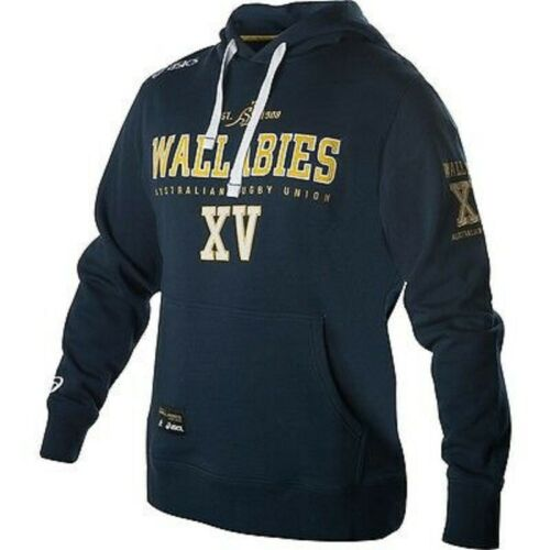Sizes S-XL only Rugby Qantas Wallabies Mens Supporter Hoodie Hoody