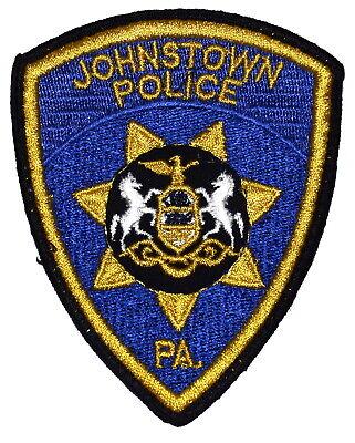 BENSALEM PENNSYLVANIA PA Police Sheriff Patch STATE SEAL VINTAGE OLD MESH ~