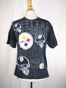 58d01a0ef Women s NFL Team Apparel Pittsburgh Steelers Black w  Gray Tie-Dye ...