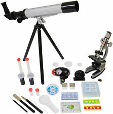 Microscope & Telescope Set with Survival Kit: Model: EDUTM008