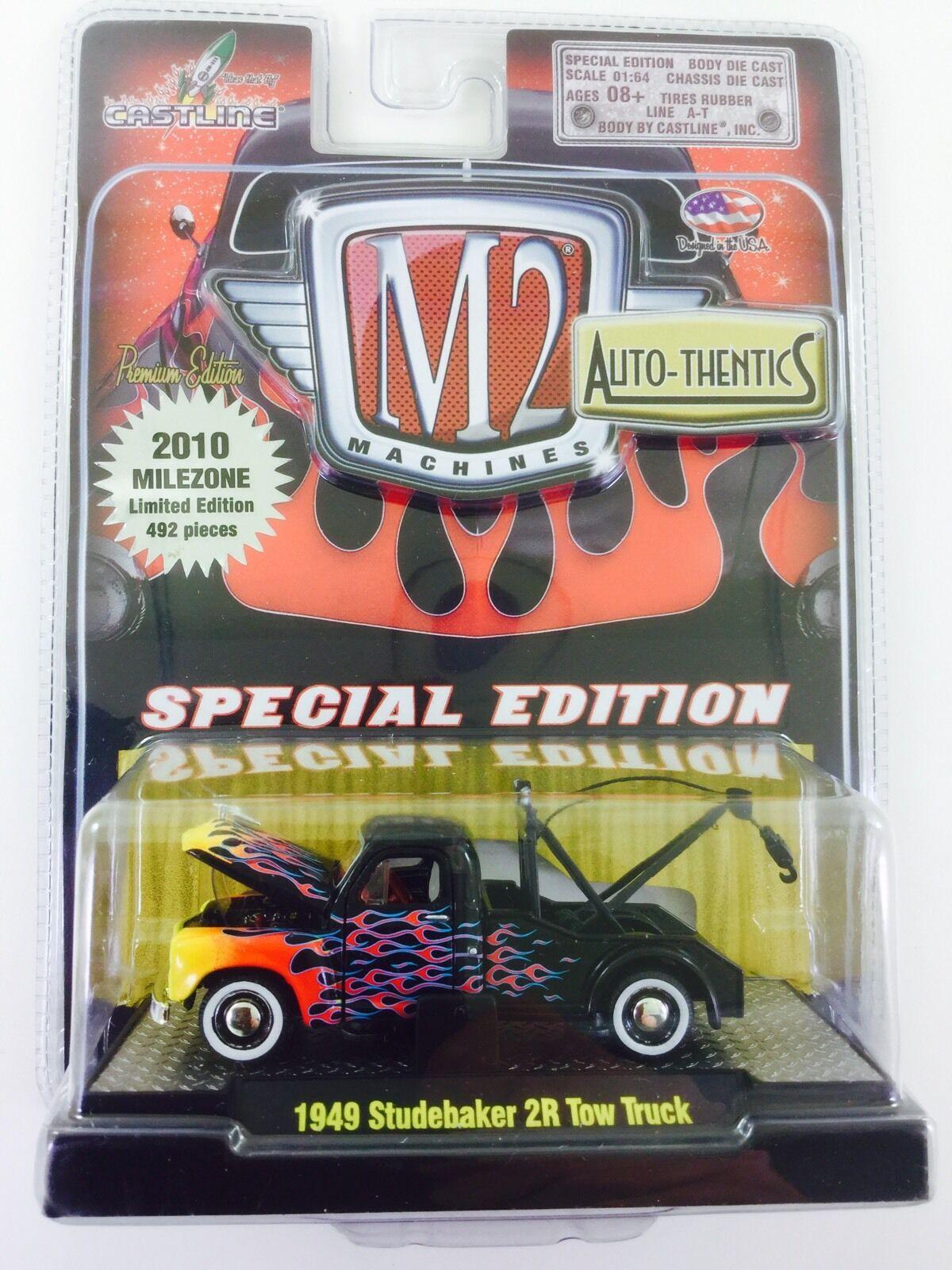 La M2 máquina milezone 1949 Studebaker grúa limitada a 492 Piezas 99%
