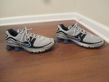 c52812233a706f item 5 Used Worn Size 12 Nike Shox NZ Turbo V Shoes Gray Silver Black Blue  -Used Worn Size 12 Nike Shox NZ Turbo V Shoes Gray Silver Black Blue
