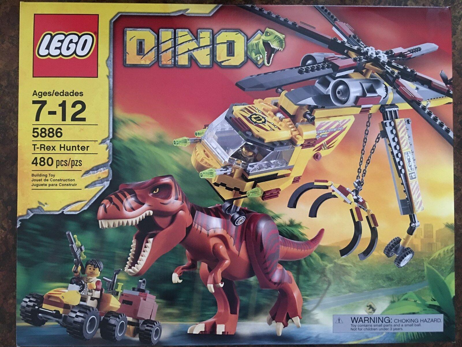 Lego  5886 Dino T-Rex Hunter Bre nuovo in a sealed scatola  tutto in alta qualità e prezzo basso