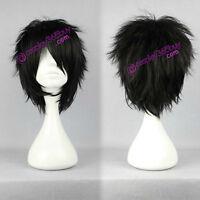 Katekyo Hitman Reborn! Hibary Kyoya cosplay wig Rozen Maiden wig black short wig