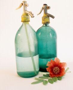 Vintage-European-Seltzer-Bottles