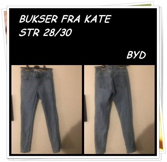 Jeans, KATE, str. 28 – dba.dk – Køb og Salg af Nyt og Brugt