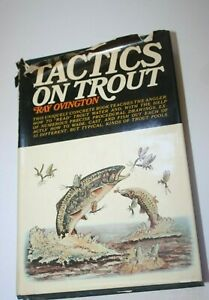 Book-Tactics-on-Trout-Ray-Ovington-First-Edition-Knopf