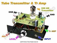 6X8/5X8 AM Transmitter /w Preamp, 660k-760kHz, Parts Set