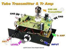 6X8/5X8 AM Transmitter /w Preamp, 660k-760kHz, Parts Set