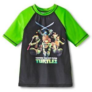f183846537 Details about Nickelodeon Ninja Turtles Geo Boys Rash Guard Jet Black target