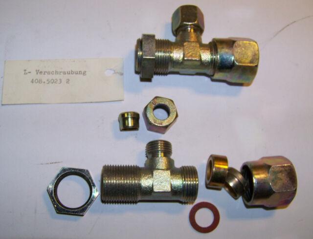 L Einschraubverschraubung WIRA 4085023 T 1x M16x1,5 2x M22x1,5