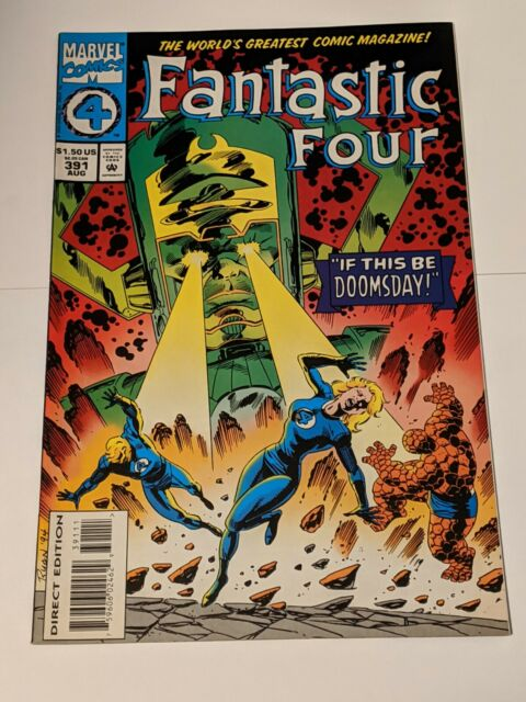Fantastic Four #391 August 1994 Marvel Comics