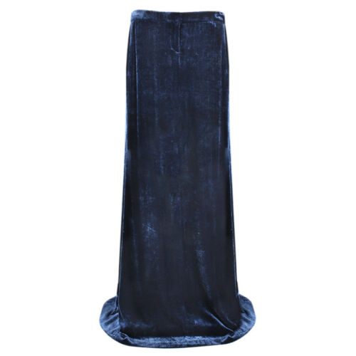 Maxi Uk12 Full Blue Pucci Midnight Velvet Skirt It44 Length Emilio qBpwZn