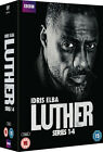 Luther - Series 1-4 DVD 2015 Idris ELBA Ruth Wilson Brian Kirk