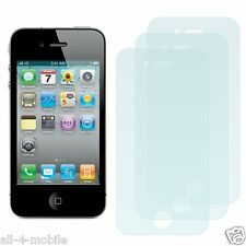 3 x screen protection film for Apple iPhone 4 4G 4 G