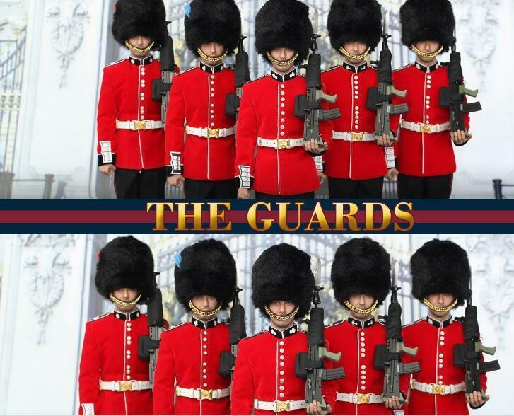 DID K80134 1 6th Scale British Infantry Guard Action Figure Collection