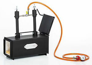 DFPROF2+1D Gas Propane Forge for Knifemaking Farriers Blacksmiths Furnace Burner