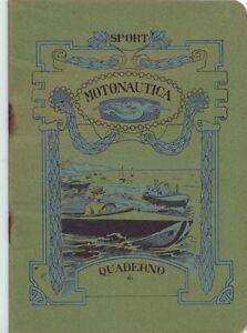 vecchio-quaderno-raro-anni-039-30-serie-SPORT-MOTONAUTICA-NAUTICA