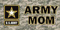 Army Mom Camo Photo License Plate