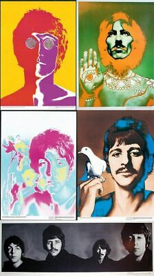 ORIGINAL POP ART POSTER OF PAUL MCCARTNEY RICHARD AVEDON FOR STERN 1967 BEATLES