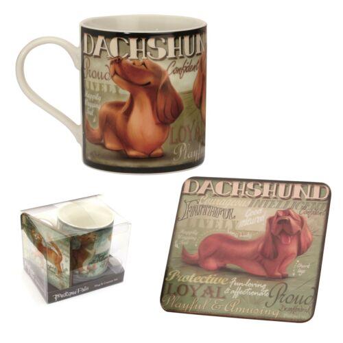My Pedigree Pals 8303 Mug and Coaster Dachshund Dog