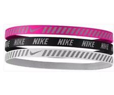 item 1 Nike Headbands 3 Pack Printed Pink Black White Adult OSFM New -Nike  Headbands 3 Pack Printed Pink Black White Adult OSFM New 37dca9169a5