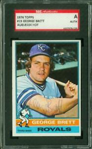SGC-Authentic-Original-Autograph-of-George-Brett-HOF-of-the-Kansas-City-Royals