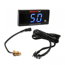 Universal Motorcycle Digital Thermometer Water Temperature Gauge Meter for Ho...