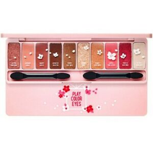 Etude-House-Play-Color-Eyes-Makeup-Eye-Shadow-Palette-10-Color-Cherry-Blossom