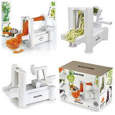 Salter Spiralizer Spiral Chopper Slicer Peeler Fruit Vegetable Noodle Machine