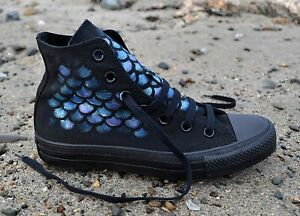 Hand Painted to Order, Chuck Taylor Hi