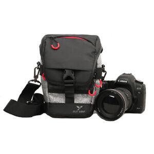 Details About Durable Nylon Waterproof Camera Bag Shoulder Messenger For Canon Nikon Dslr Case
