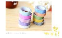 DIY Decorative 5M Glitter Washi Tape Paper Self Adhesive Stick On Sticky Craft