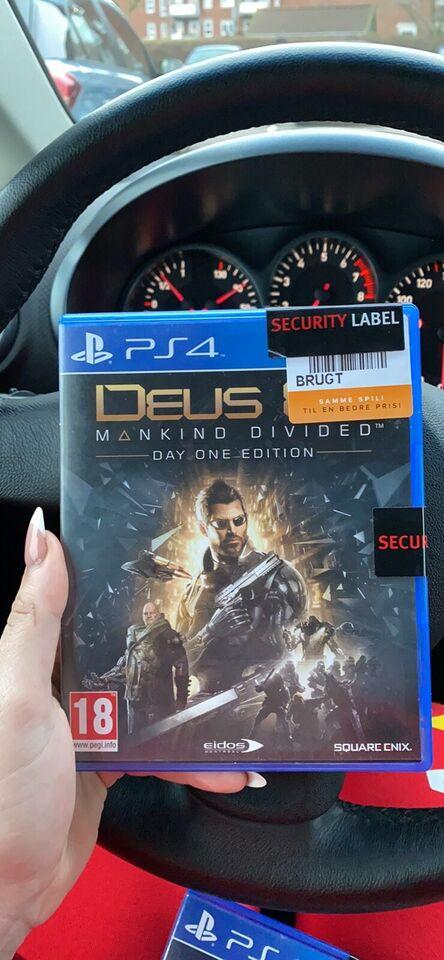 Skyde spil, PS4